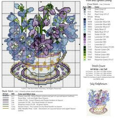 delphinium with teacup - Google Search