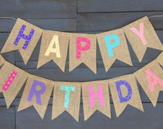 Birthday Decorations Discover Reusable Rainbow Burlap Happy Birthday Banner First Birthday Party Decorations Pink Purple Teal Coral Blue Fabric Cake Smash Photo Prop First Birthday Party Decorations, Happy Birthday Parties, Happy Birthday Banners, Birthday Greetings, Happy Party, Pink First Birthday, Diy Birthday, Rainbow Birthday, Cake Birthday