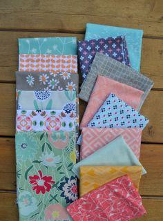 choosing fabrics for quilt, art gallery fabrics