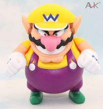US $5.23 Super Mario Bros Wario Action Figure Toy 12cm Anime game Collection PVC model Dolls toys Brinquedos. Aliexpress product