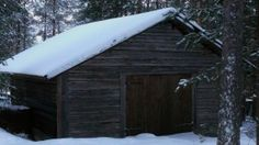 Nordic Adventures log cabin at Kemijärvi Civilization, Cabins, Hunting, Bird, Adventure, House Styles, Birds, Adventure Movies, Cottages