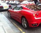 Photo of UK registration number plate EU56UUZ / EU56 UUZ: Ferrari F430   http://platewave.com