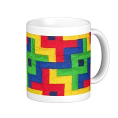 'Patchwork Quilt' Coffee Mug: $17.95  #quilting #gifts - http://www.zazzle.com/patchwork_quilt_coffee_mug-168230871760008112?rf=238041988035411422