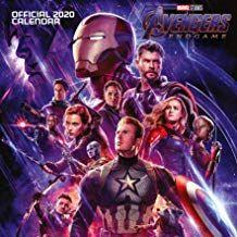 Free Download Pdf Marvel Avengers End Game 2020 Calendar