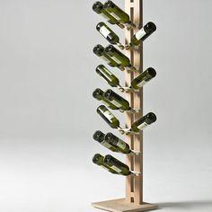 Zia Gaia cheerful spirit #leziedimilano #enoteca #arredocasa #bottlerack #wine #winery #whitewine #vino #bottleholder #cincin #degustazione #partytime #gourmet  #vinobianco #nordicstyle #forniturewood #minimalist