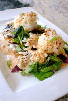 Crab Benedict Croquette at Palmilla Cocina y Tequila