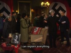 Father Ted memes are an untapped market place. Dankest Memes, Funny Memes, Hilarious, Silly Memes, Funny Sayings, Funny Stuff, British Tv Comedies, Germany