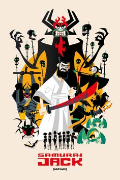 SMITE THE WORLD — deanlord: With Samurai Jack returning, I was...