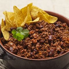 Try our quick and easy recipe for a delicious chili con carne, with Quorn Meat Free Mince, onion, and kidney beans topped with fresh coriander.