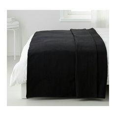 Zwart sprei Ikea