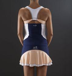 Endless Starlett Marino - Conjunto Top y Falda de Padel y Tenis - Mujer