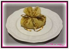 Aumonières pommes amandes caramel au beurre salé