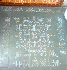 this we made it on the day of varalakshmi vrat, hopefully it has turned out to be a good one. Rangoli Borders, Rangoli Border Designs, Rangoli Patterns, Rangoli Designs With Dots, Rangoli Designs Images, Rangoli With Dots, Rangoli Designs Simple Diwali, Small Rangoli Design, Beautiful Rangoli Designs