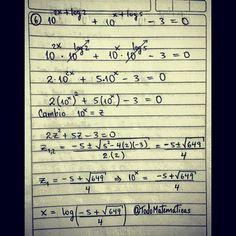Necesidad una ayuda extra con logaritmos??? No dudes en contactarnos... Estamos para ayudarte en esas emergencias matemáticas... #TodoMatematicas tu mejor elección #USB #UCAB #UCV #ENAHP #UC #UAH #LUZ #Matemáticas #Colegio #Clases #Tareas #Trabajos #Talleres #Pruebas #Parciales #Actividades #Ayuda #Calculo #Algebra #Geometria #Analisis #Trigonemetria #Logaritmos #Derivadas #Intregales #Limites #Venezuela #Caracas