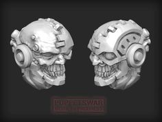 Our latest project, half man half machine. Do you want to see more such hybrids ? Half Man, Warhammer 40k, Puppets, Sculpting, Lion Sculpture, Miniatures, Statue, Projects, Models