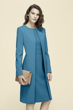 The sartorial answer for get-up-and-go days starts and ends with and effortlessly polished dress