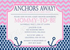 Girl or Boy Nautical Baby Shower Invitation by STARTZdesigns, $10.00