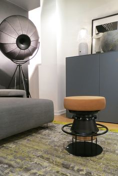 Tembo stool designed by Note Design Studio for La Chance @Claude Cartier, Lyon - www.lachance.fr