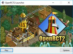 Downloads for the open-source adaption of RollerCoaster Tycoon 2. Free to download.