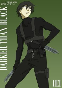 Darker than Black - #anime with amazingly done battle choreography and gloomy plot | by nv3