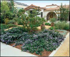 faux courtyard design