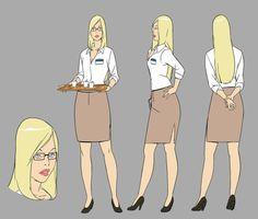 Visual Developer /// Story maker /// Director (of Crisis Jung for Example) Female Character Design, Character Design Inspiration, Character Concept, Character Art, Concept Art, Character Turnaround, Female Drawing, Female Art, Fanart