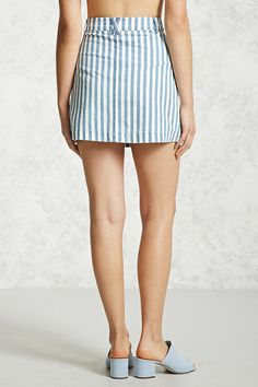 Product Name:Contemporary Striped Skirt, Category:contemporary-main, Price:17.9