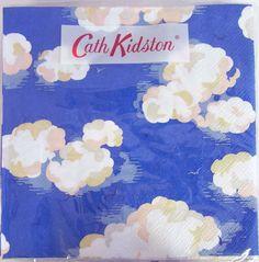 ペーパータオルマルチスターホワイト20枚入りキャスキッドソン[CathKidston]ドイツ製ペーパーナフキン・紙ナプキン・鳥・花