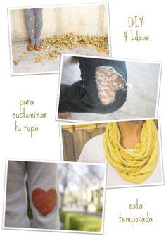 Fácil y Sencillo: DIY - 4 Ideas to Customize your Colthes