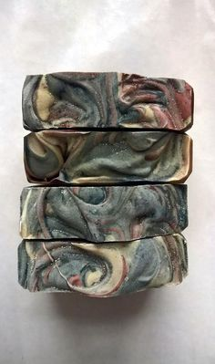 Smoking Jacket: Tea and Tobacco Soap Vegan Soap by HermitageSoapNH