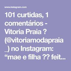 """8e1a43d59 Vitoria Praia 🌞 on Instagram: """"mae e filha 😍😍 feito por encomenda.  estampa de melancia coisa mais fofa!! infantil 58,00 adulto 128,00 enviamos  para todo ..."""
