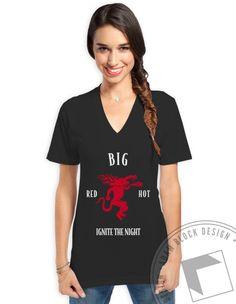 Ignite the Night - Big Vneck by ABD BlockBuy! Just $15.50-$19 each plus shipping | Adam Block Design | Custom Greek Apparel & Sorority Clothes | www.adamblockdesign.com