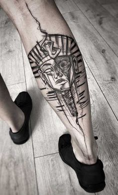 Rose Tattoos Tumblr, Tribal Tattoos, Cool Tattoos, Egyptian Tattoo Sleeve, Trident Tattoo, Forearm Sleeve Tattoos, Egyptian Art, I Tattoo, Piercings