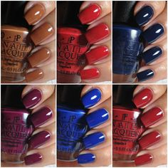 OPI Fall 2013 Collection inspired by our dear San Francisco. Time for a well-deserved manicure!