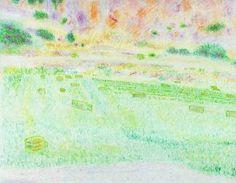 "Saatchi Art Artist Robert Lee; Drawing, ""Greek Landscape by Robert S. Lee (Sketchbook p. 134)"" #Robert #S. #Lee #drawing #art #artist #color #colour #Greece #Greek #Apostle #Paul #landscape #hay #field Entire Book on Paperback https://www.amazon.com/dp/B015Z10SPA or Kindle Edition 1 https://www.amazon.com/dp/B015100PH6 or Kindle Edition 2 https://www.amazon.com/dp/B01518XVG0 Black & White Edition https://www.amazon.com/dp/B015Z3KSEO"