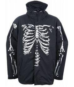 Sessions Boner Snowboard Jacket Black Magic... I NEED THIS