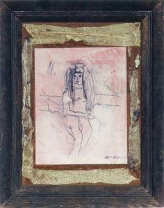 Joseph Cornell (1903-1972)Portrait of Yayoi Kusama by Joseph Cornell, 1965 Collection: Yayoi Kusama. Courtesy Yayoi Kusama Studio, Inc