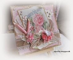 Hand Made Greeting Cards, Making Greeting Cards, Pretty Cards, Vintage Cards, Creative Inspiration, Decorative Boxes, Shabby Chic, Paper Crafts, Gift Wrapping