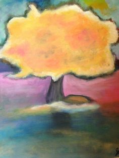 The Tree At Owasco Lake-Acrylic Painting by Suzanne Connors Graphic Design, Creative, Artist, Painting, Artists, Painting Art, Paintings, Painted Canvas, Visual Communication