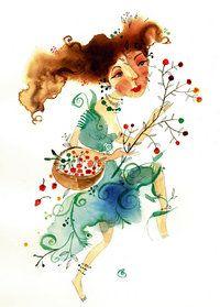 Gratis Piet Grobler-sketse saam met jou nuwe SARIE - só maak jy | SARIE Freelance Illustrator, Paint Designs, Watercolours, Watercolor Illustration, Illustrators, South Africa, Whimsical, Russia, African