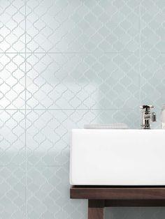 Southern Cross Ceramics - Vienna in Clay Ensuite Bathrooms, Bathroom Renovations, Home Renovation, Small Bathroom, Bathroom Ideas, Style Tile, Tiles, Sink, Vanity