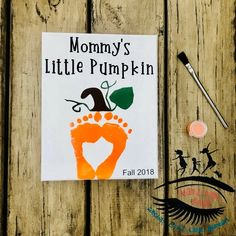 Mommys Little Pumpkin Fall Halloween Toddler Footprint Art Baby Footprint Art Mama Dont Blink Kids Crafts, Halloween Crafts For Toddlers, Daycare Crafts, Fall Crafts For Kids, Holiday Crafts, Craft Projects, Baby Fall Crafts, Craft Ideas, Fall Toddler Crafts