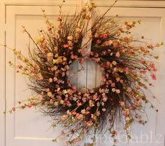 Tutorial: Spring Wreath