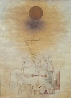 Bounds of the intellect (Grenzen des Verstandes), (1927) Paul Klee (Swiss, 1879-1940) Watercolor and pencil on paper
