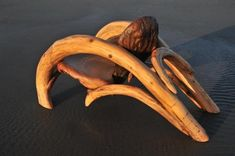 Chair made of driftwood!
