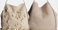 Olá pessoal, boa tarde!  Veja como fazer essa linda bolsa de crochê com a receita e o gráfico abaixo!      Material Necessário:  • 4 novelo...