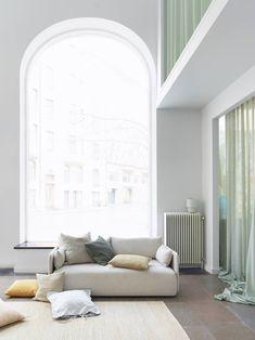 MENU   Offset Sofa in Elle Decoration Sweden.