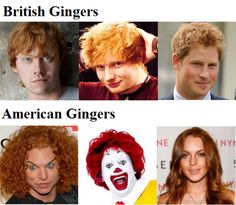 Now you know why I have a British Gingers Board!  Ron, Ed and Harry are hot!