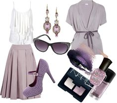 """""""Lilac Love"""" by jessica-shafer on Polyvore"""