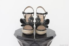 Valentino Bow Wedges